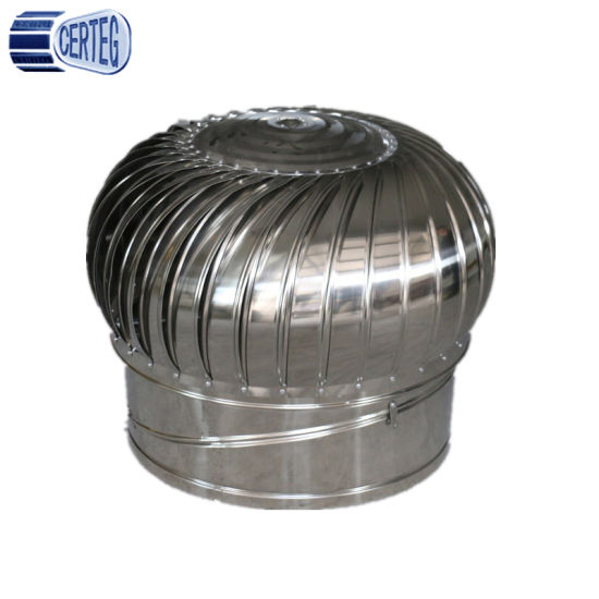 whirligig roof ventilation fan stainless steel cowl chimney