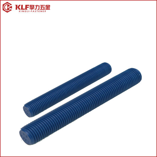 China Fastener ASTM A193 B7 Stud Bolt with A194 2h Heavy Hex