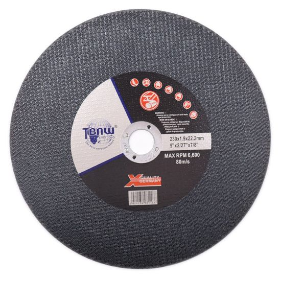 China Factory 230X1.9X22mm Cut off Disc Cutting Wheel