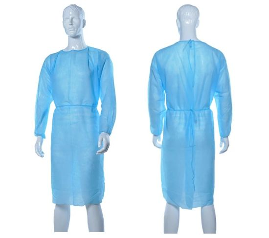 Medical Surgical Isolation Gown Protective Suit Protective Clothing Workwear pictures & photos