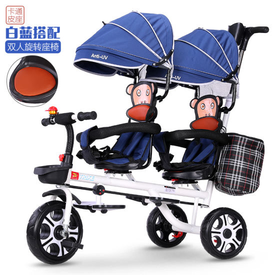 Asy Carry High Landscape with Canopy Baby Stroller BS-41 pictures & photos