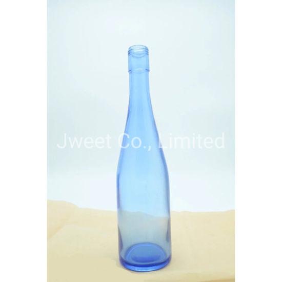 Wholesale Good Quality 750ml Sake Alcoholic Glass Bottle