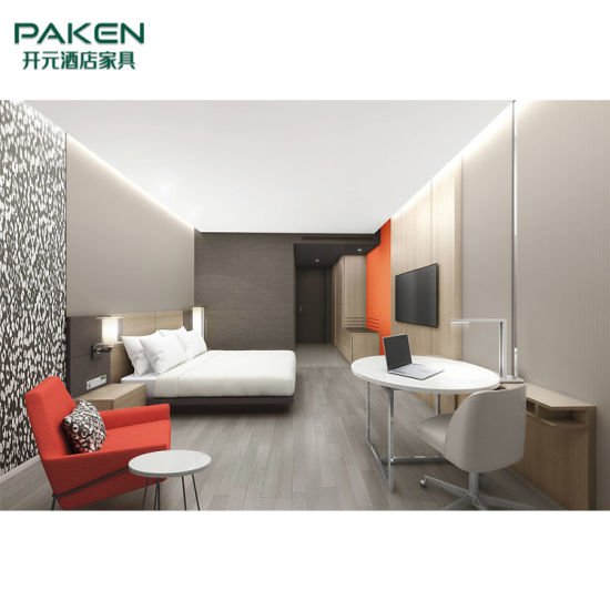 Paken Excellent Hotel Furniture with Concise Bedroom Set