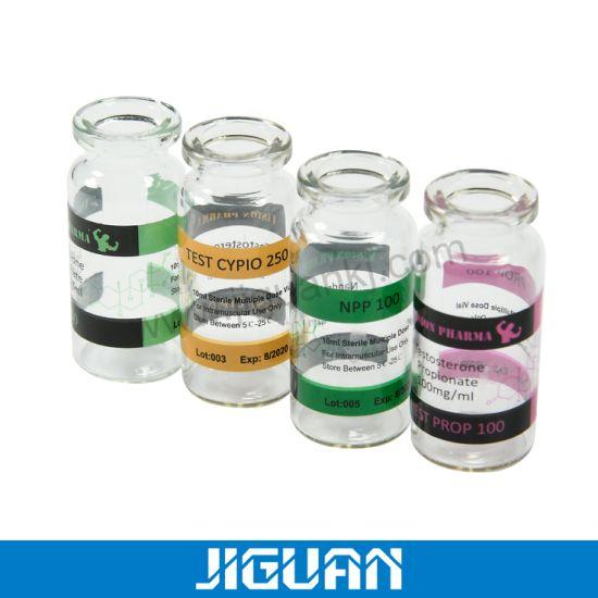 Steroid Sterile Medical Use Glass Vial Bottle