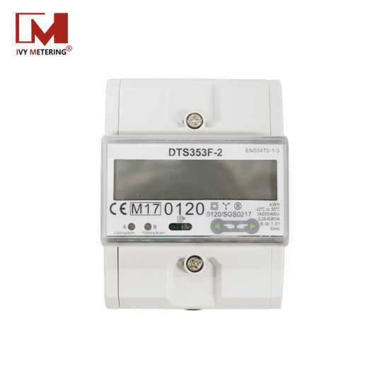 IP51 IP54 Dts -353 30A 32A 40A 45A Triphase Electricity Meter