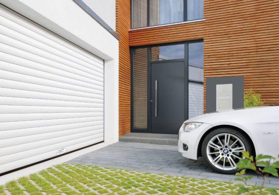 Chinese Manufacturer Aluminum/Aluminium Garden Gate Garage Doors Industrial Garage Door
