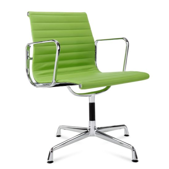 China Green Color Eames Ea104 Fixed Feet Four Leg Office Visitor Chair And Conference Chair China Office Waiting Chairs Guest Chair