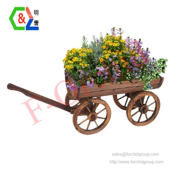 Flower Planter Pot Stand Barrel