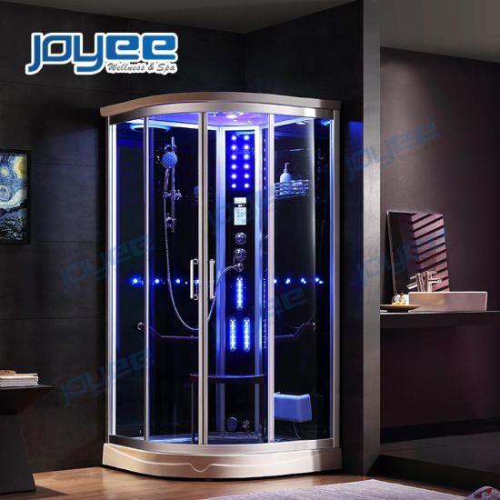 Joyee Factory Direct Wholesale New Design Square Shape Bathroom Enclosure Enclosed Wet Steam Shower Room