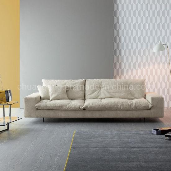 China Colorful Latest Leisure Design, Down Feather Sleeper Sofa
