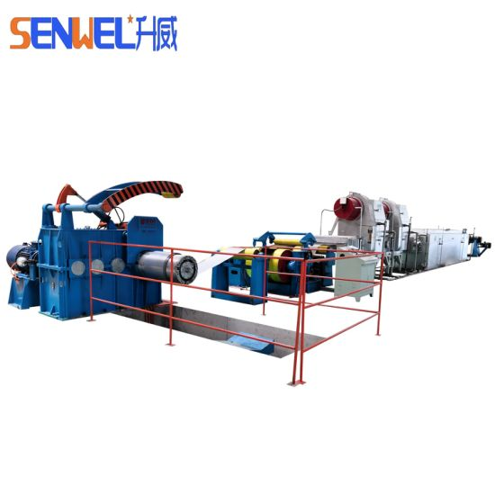 China Factory Coil Solution Annealing Machine