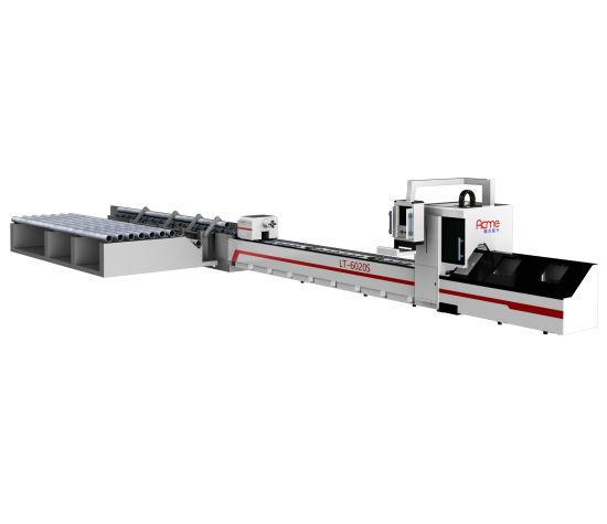 High Precision Pipe Automatic Feeding Metal Tube Fiber Laser Cutting Machine Auto-Loading System