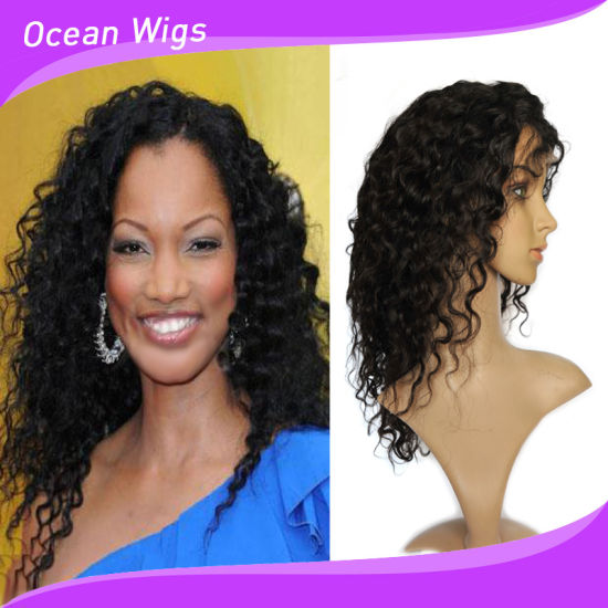 Wholesale Various Color 18 Inch Indian Remy Human Hair Full Lace Wig pictures & photos