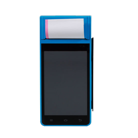 Handheld Touch Screen Smart GPRS All in One Android POS Terminal with Printer Z90 pictures & photos