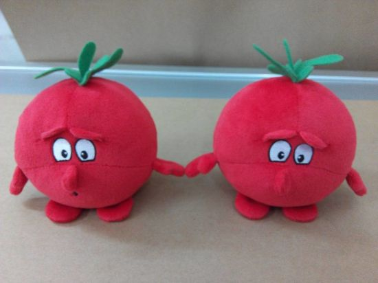 Custom Tomato Plush Toy Stuffed Pepper Toy pictures & photos