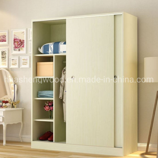 Factory MFC Simple Children Bedroom Wardrobe Design