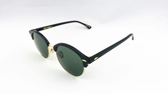 Acetate Sunglasses with Glass Lens for Male and Female. pictures & photos
