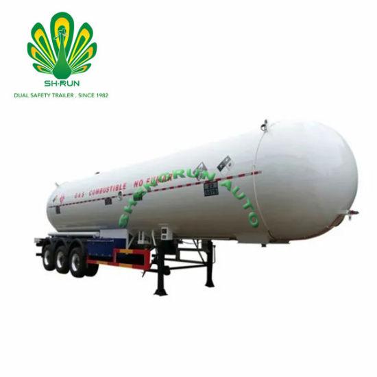 China Factory Shengrun Gas Tank LPG Tank Trailer LPG Truck