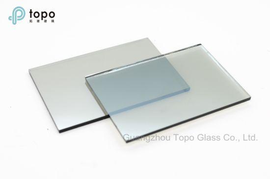 Light Blue / Crystal Blue Coated Reflective Flat Float Glass (R-LB)