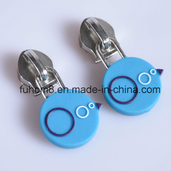 Custom H-Quality Garment TPU Zipper Pull with Logo pictures & photos