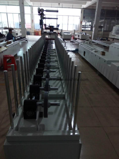 Line Decorative Woodworking Wrapping TUV Certificated Machine pictures & photos