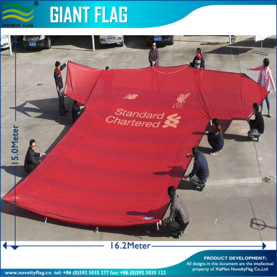 Football Event Flag, Huge Flag, Giant T-Shirt Flag (J-NF11F06003) pictures & photos