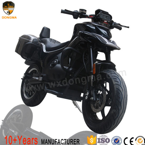 Electric Scooter/Motorcycle Lithium Battery 5000W Powerful Motor with Super LED Light