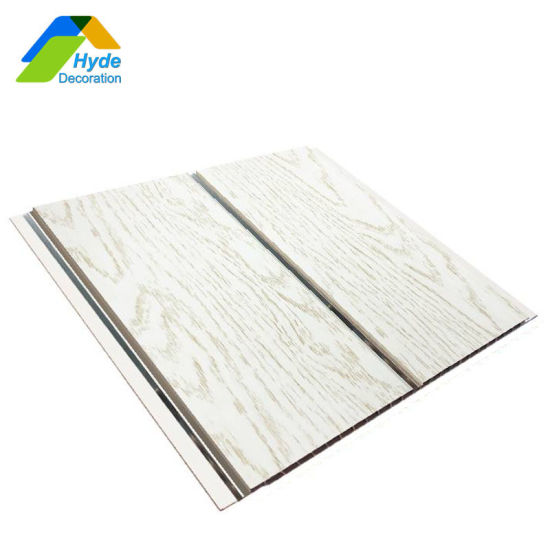Groove/Flat Waterproof Interlocking PVC Wall and Plastic Ceiling Panels Direct From China Manufacturer DC-1078