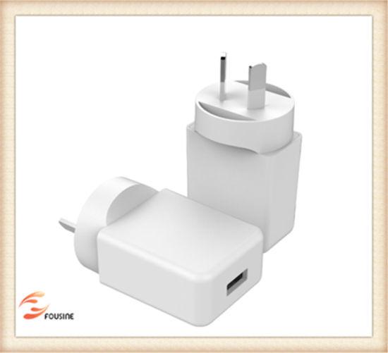 5V 2.4A Wall Charger with Au Plug