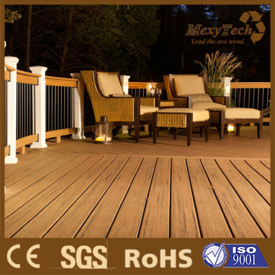Good Price and Quality Outdoor Commercial Project Decking UV Resistance pictures & photos