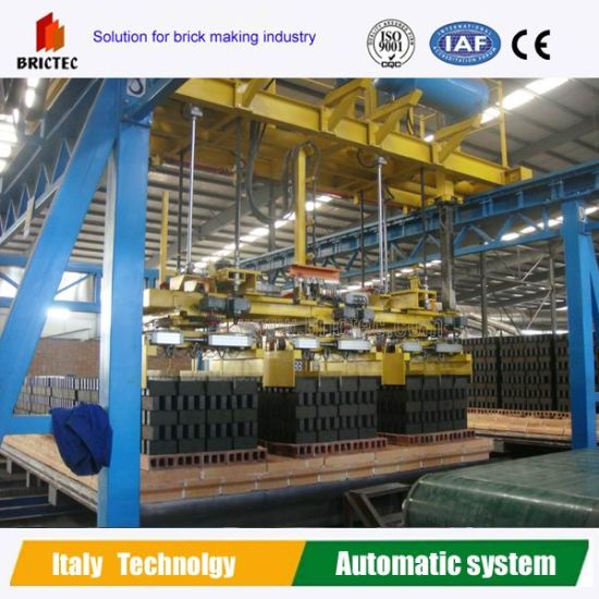 Automatic Clay Brick Production Line-Unloading Machine pictures & photos