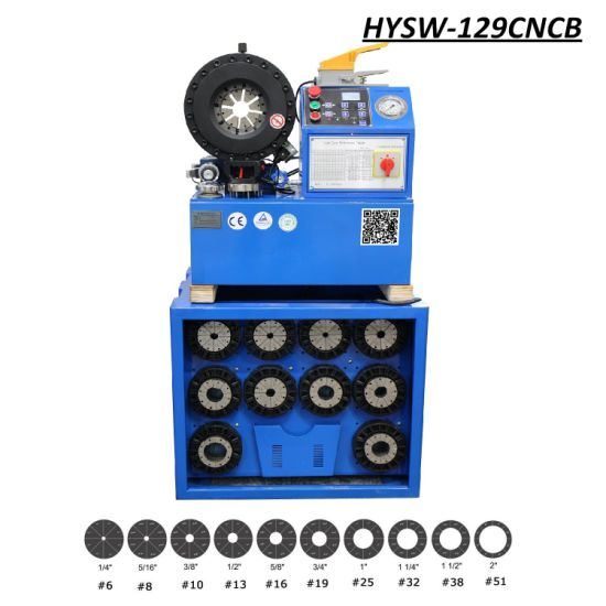 High Precision Digital Controlled Hydraulic Crimping Machine