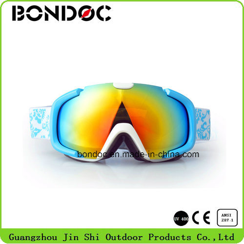 Lovely Colorful Youth Anti Fog Ski Goggles pictures & photos