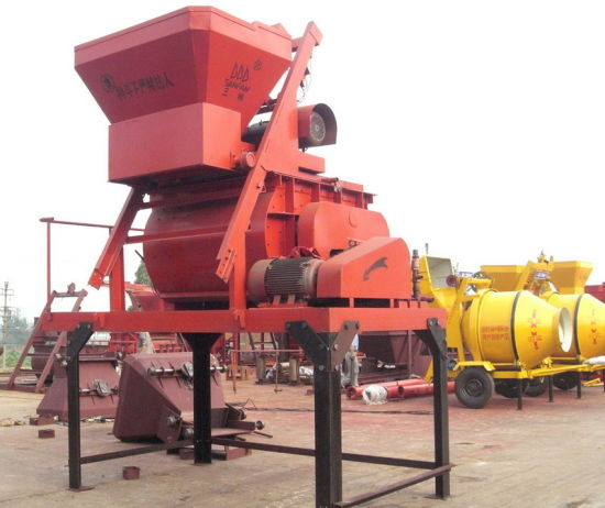 Double Shaft Concrete Mixer JS500 pictures & photos