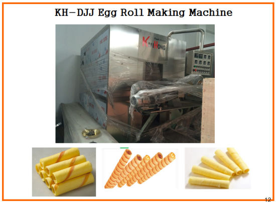 Kh-Djj Hot Sell Egg Roll Roller Machine pictures & photos