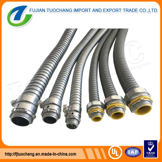 ul standard flexible metal conduit for electrical wiring pictures & photos