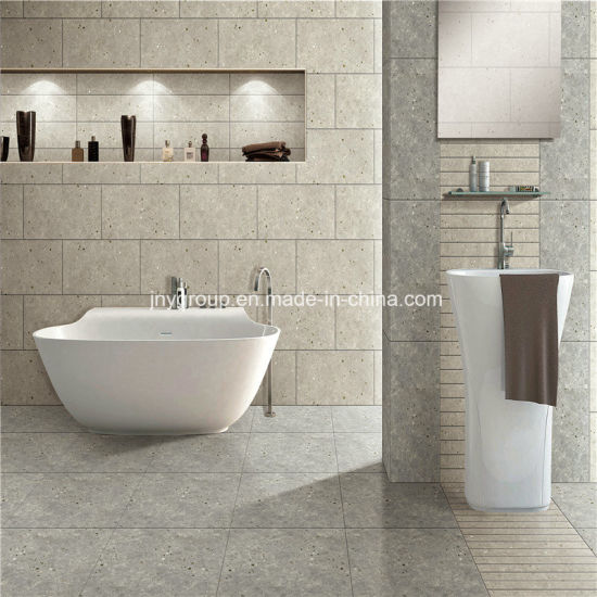 Rustic Porcelain Terrazzo Stone Tile 60010B