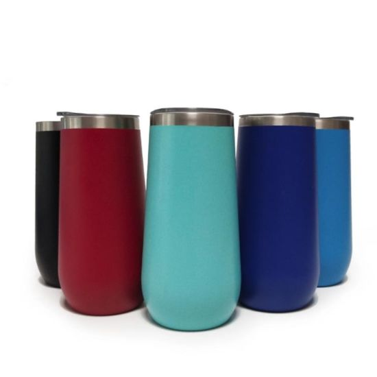 10oz Stainless Steel Tumbler Insulated Wine Glass