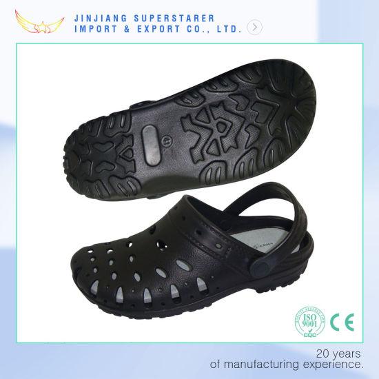 85e9e38a90fe7 China Summer Style EVA Foam Holey Soles Clogs with Breathable Design ...