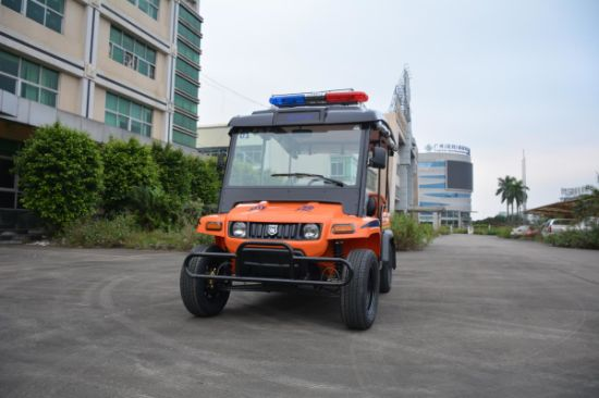 New Amusement Park Electric Shuttle Bus 48V 5kw Electric Sightseeing Car for Sale pictures & photos