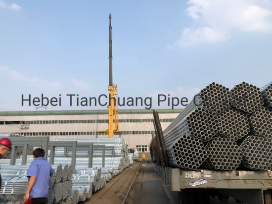 Hot DIP Galvanized Steel Pipe Used in Fire Protection