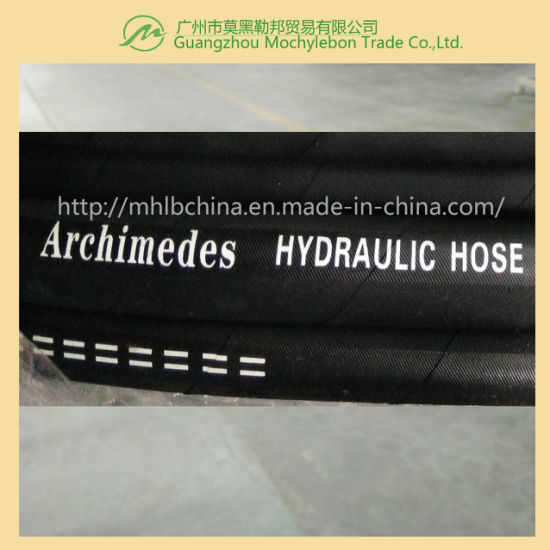 Wire Braided Hydraulic Hose (EN853-2SN-5/16) pictures & photos