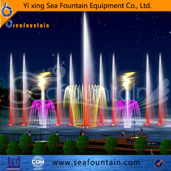 Morden Lake Floating Water Fountain Company