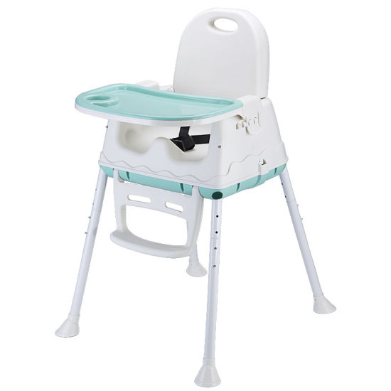 China Portable Baby High Chair 3 In 1 With Food Tray Baby Dinner