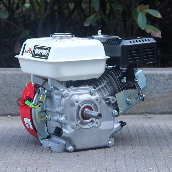 Bison (China) BS168f Air-Cooled 4-Stroke 1 Cylinder Ohv Horizontal Shaft 5.5HP Gasoline Car Engine pictures & photos