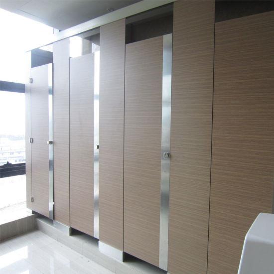 Waterproof HPL Bathroom Partition/Bathroom Cubicle Door