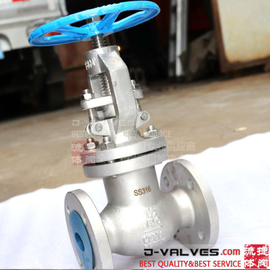 API600 Flanged Ends Stainless Steel Globe Valve with 150lb 300lb 600lb