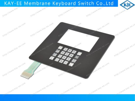 Metal Dome Structure Membrane Switch with Nicomatic Male Pin