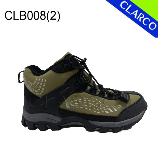 Good Quality Men Outdoor Hiking Boots with Waterproof pictures & photos