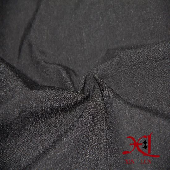 Lycra Fabric Composite Flocking Fabric for Pants/Sportswear